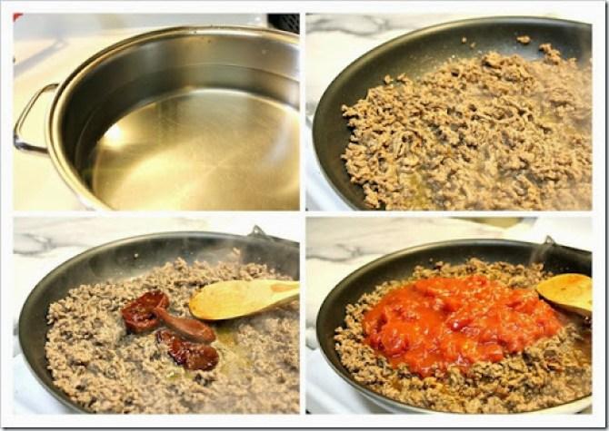 Barilla chipotle meat sauce pasta (1)
