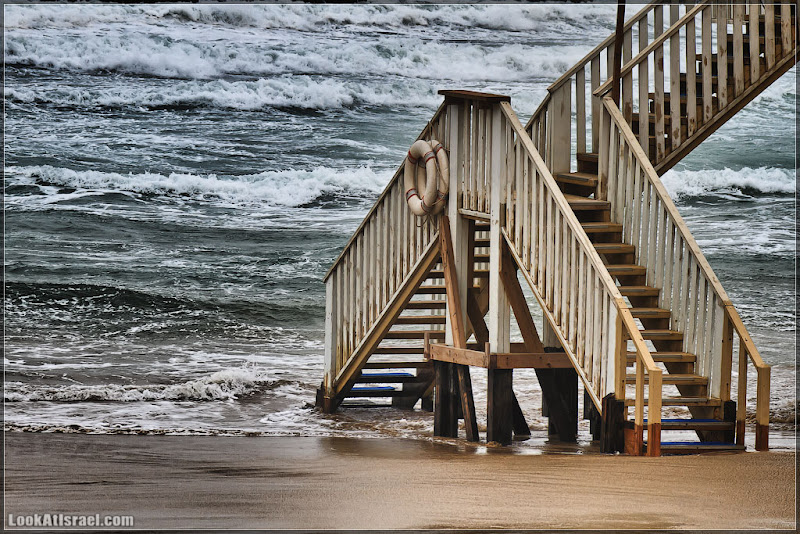 Одно фото / Морская, ступенчатая, перестроечная