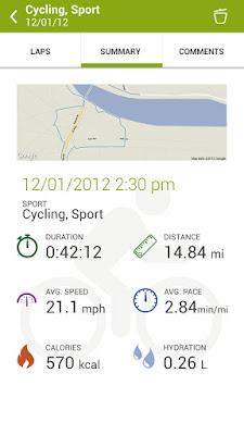 *推薦的運動健身紀錄好助理 :Endomondo Sports Tracker (Android App) 4