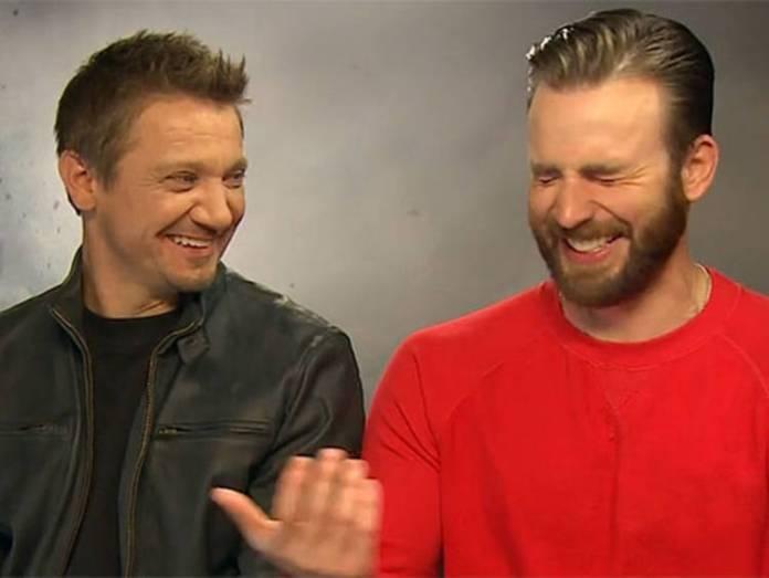 Los Vengadores: Chris Evans y Jeremy Renner