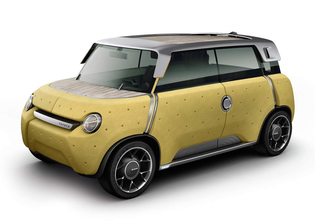 *TOYOTA ME.WE小型遊玩車:電動環保輕巧登場! 1