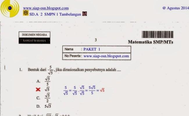 Contoh Soal Matematika Di Korea Selatan Studi Indonesia