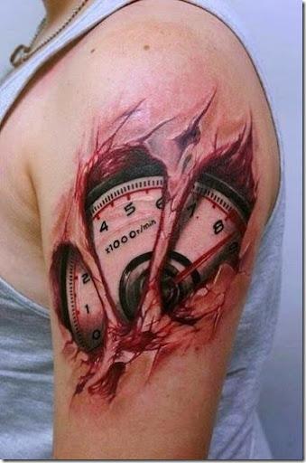 Increíble Nuevo Realistas En 3d Diseños De Tatuaje Tatuajes247