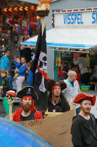 piraten op Krottegem Kermis
