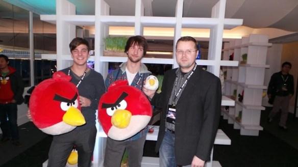 Samsung Angry Birds All Star Final - Das Österreich-Team
