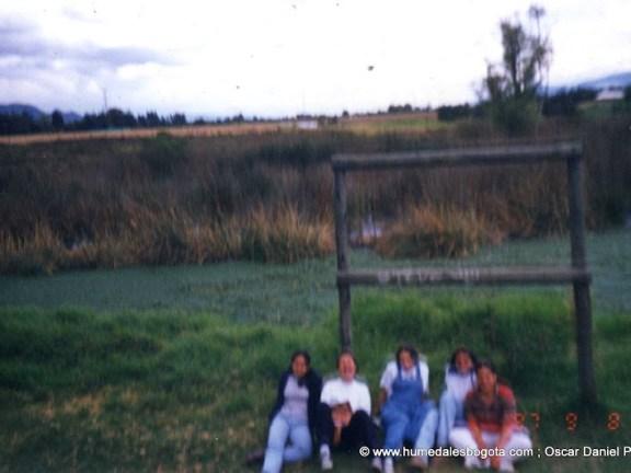 Foto grupal Humedal La Conejera 1997