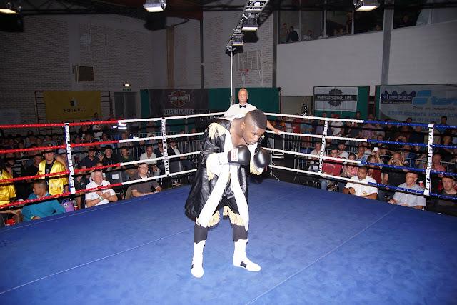 Yves Ngabu, boksmeeting Gits