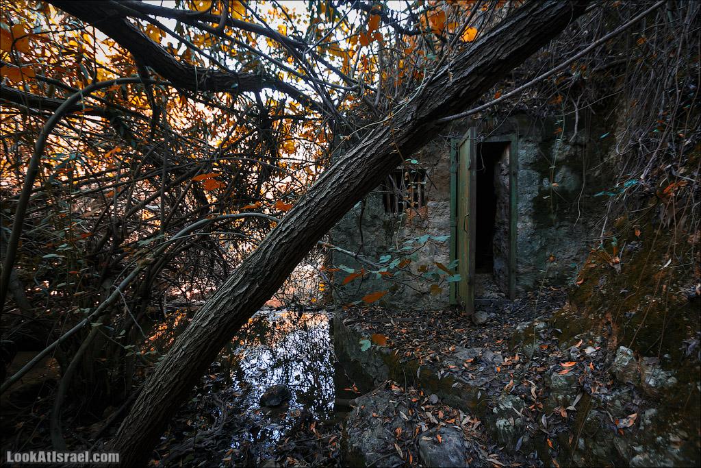 Заброшенные дом у реки | LookAtIsrael.com - Фото путешествия по Израилю и не только...
