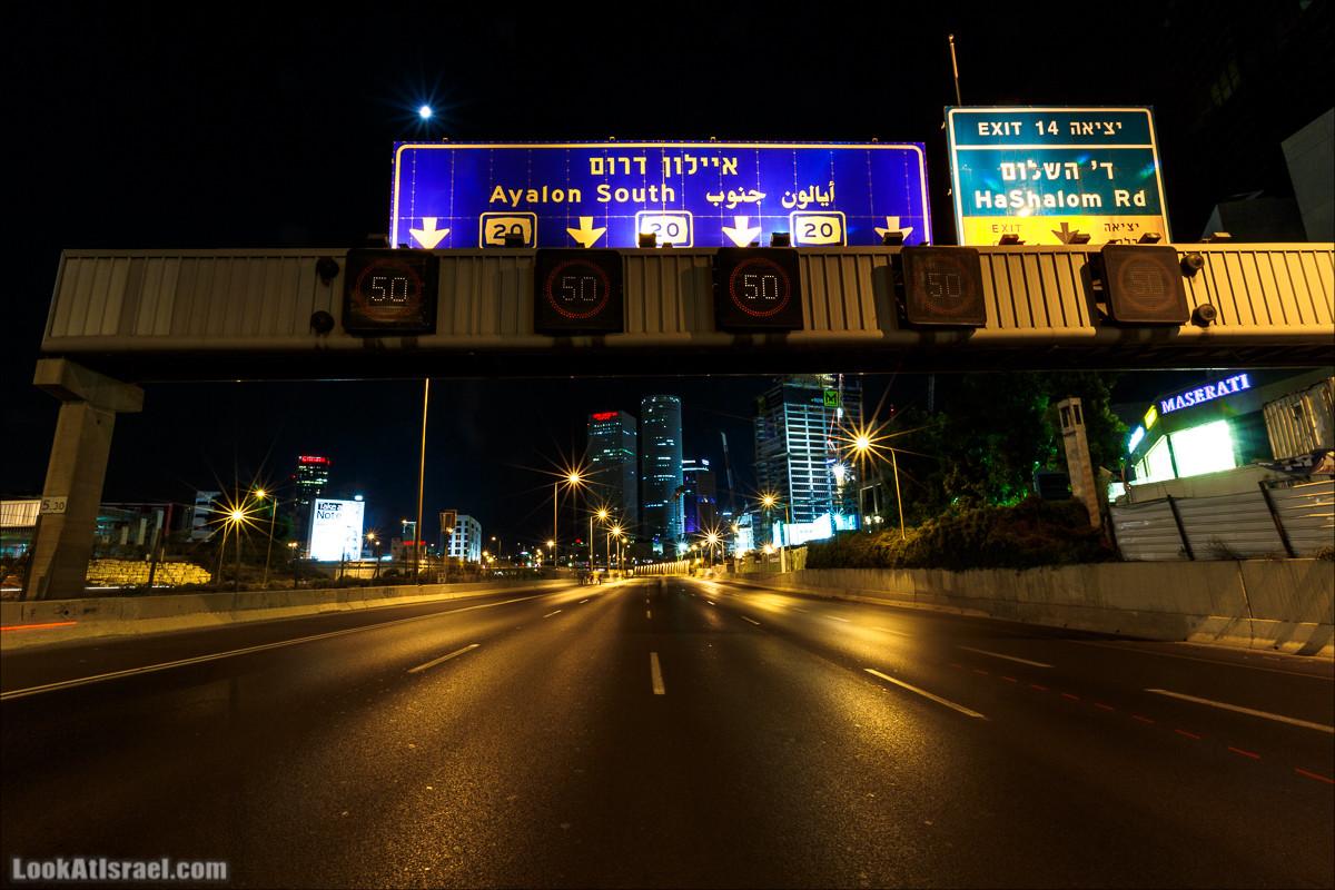Ночной Тель-Авив | Tel-Aviv nights | LookAtIsrael.com - Фото путешествия по Израилю