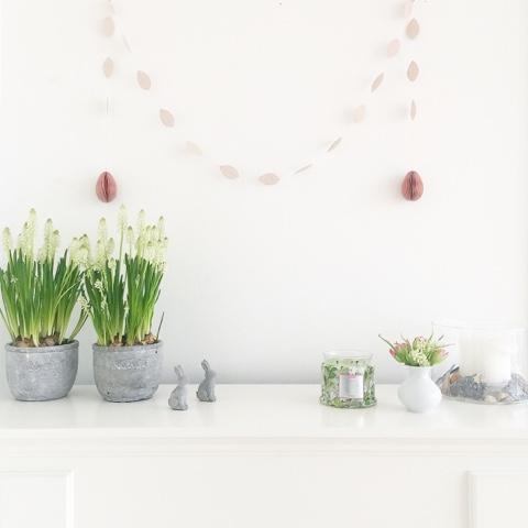 Frühlings-Update in unserer Wohnung und ein paar Osterdekoideen