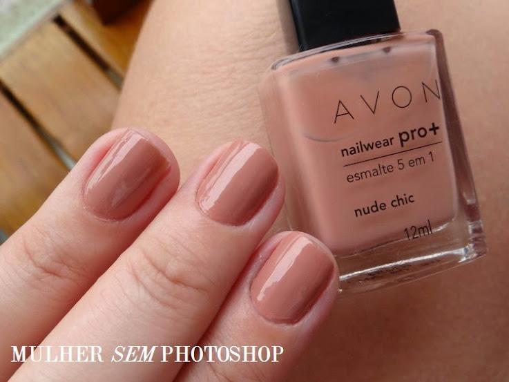 Nude Chic - esmalte da linha Nailwear Pro + Avon