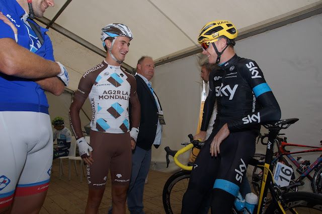 Alexis Vuillermoz en Chris Froome