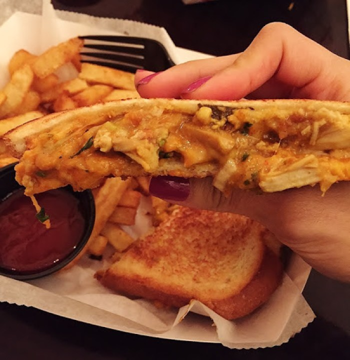 Bombay Duck Co. Chicken Toastie