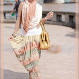 summer street style fashion with hijab 2016