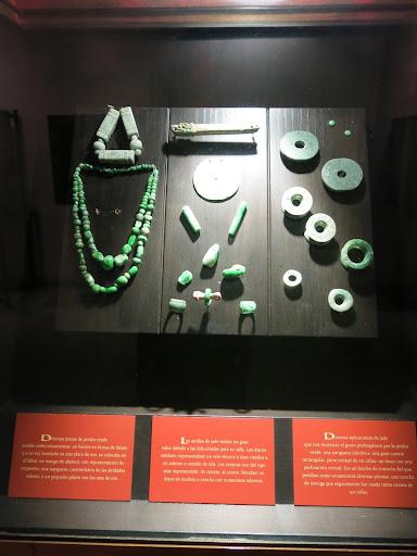 Jade found in Monte Alban tomb showcased at the Santo Domingo Cultural Centre