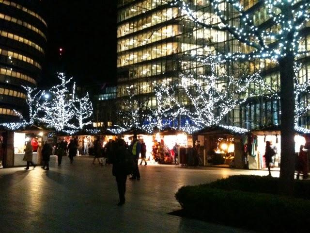 Christmas market More London