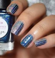 pretty blue nails art & design