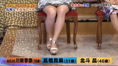 納豆雑菌のようなニオイがすると噂の川栄李奈ちゃんの足