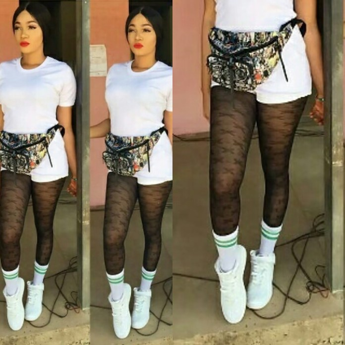 "PhotoGrid 1497090040148 - ""Slay queen slaying in camp"" – This female corper's outfit got people talking"