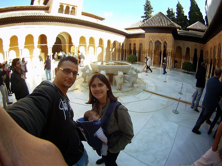 Selfie en la Alhambra
