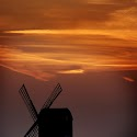Pitstone Windmill at Sunset_Elaine Rushton.jpg