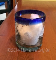 How fast does snow melt experiment at http://www.momistheonlygirl.com