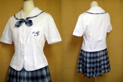 宮崎日本大学高等学校の女子の制服1