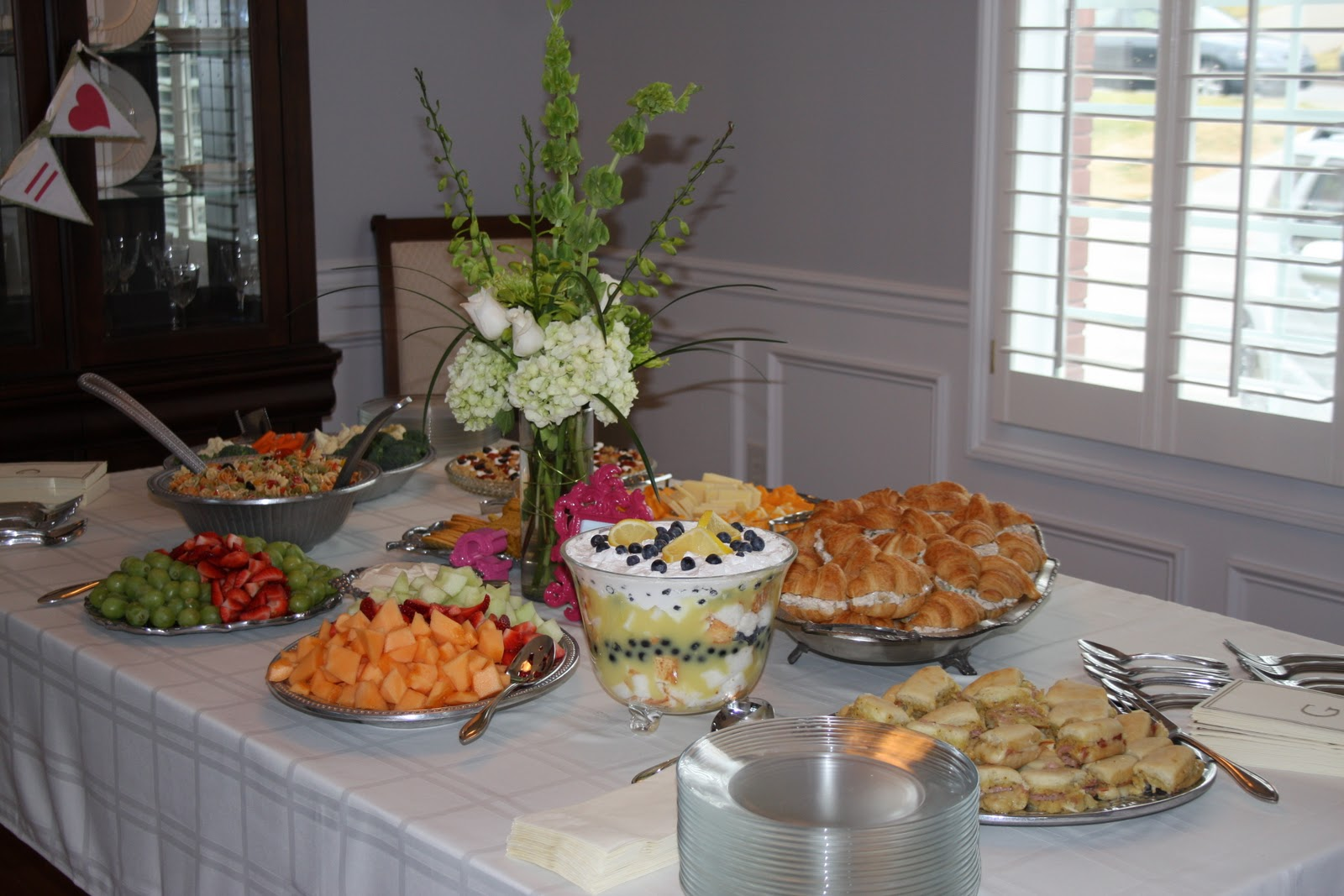 The Kitchen-ette: Bridal Shower Food Ideas