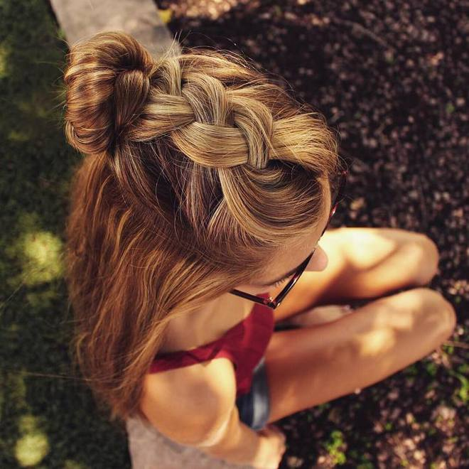 original ideas for hairstyles with pigtails 2018 4