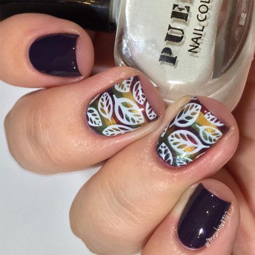 Cute fall nail designs ideas do it yourself pretty 4 this beautiful fall striped example catches the greater part of the best fall nail hues paint your nails with stripes in glittery fall nail clean and after solutioingenieria Images