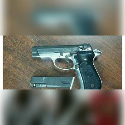 Arma usada por los forajidos ilegales haitianos.