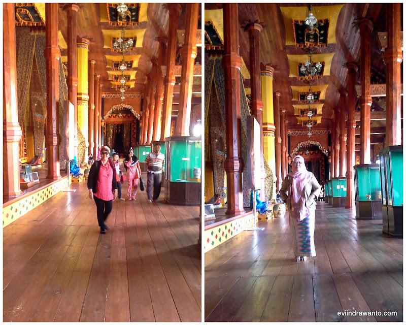 ruang di istana pagaruyung