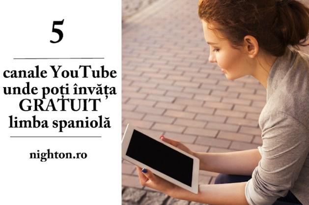 5 canale YouTube unde poți învăța GRATUIT limba spaniolă
