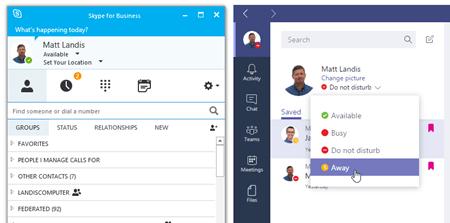microsoft teams skype for business integration