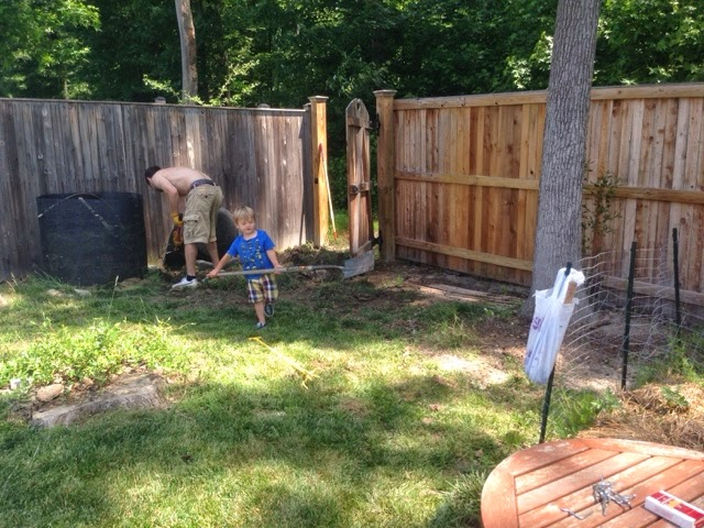 Preventing ticks in the yard.
