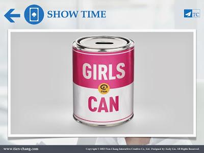 創意行銷案例 - Girls Can Case