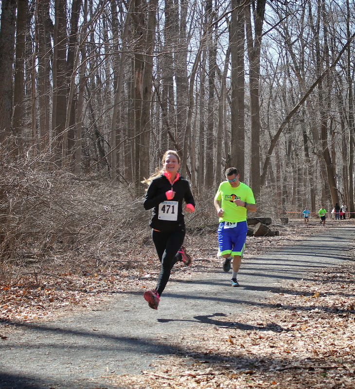 Princeton Athletic Club Institute Woods 6K April 5, 2014 Women's 2nd place Breanne Steinhauer - Hillsborough - 30:35