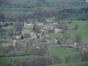 Downham from Pendle Hill