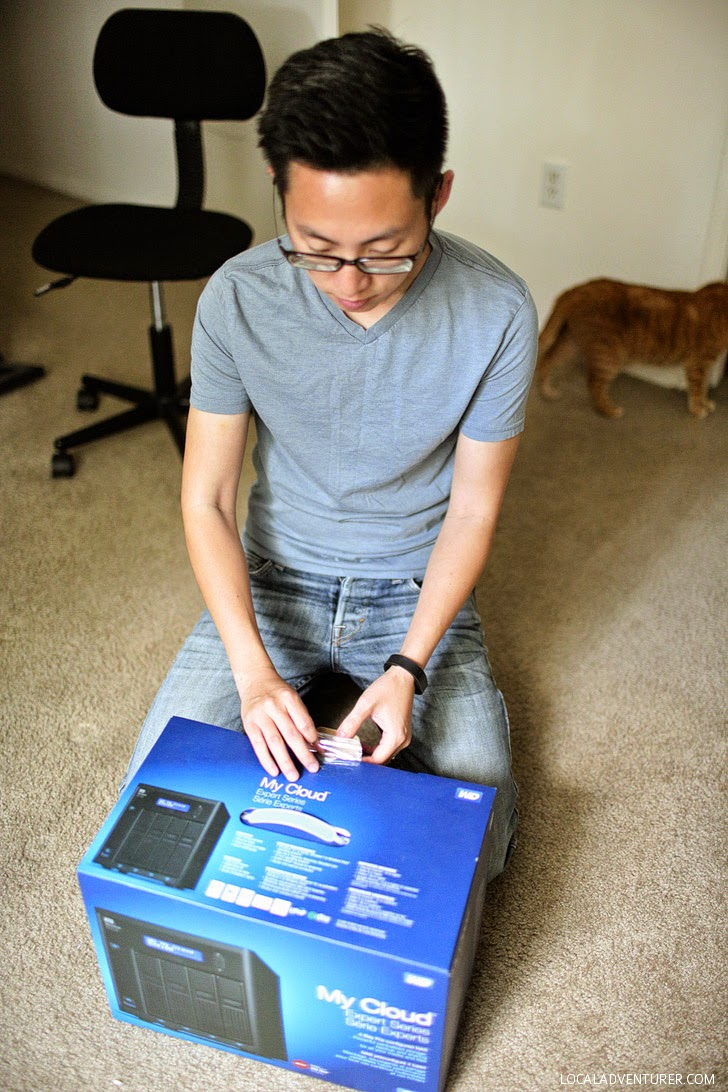 WD My Cloud Unboxing.