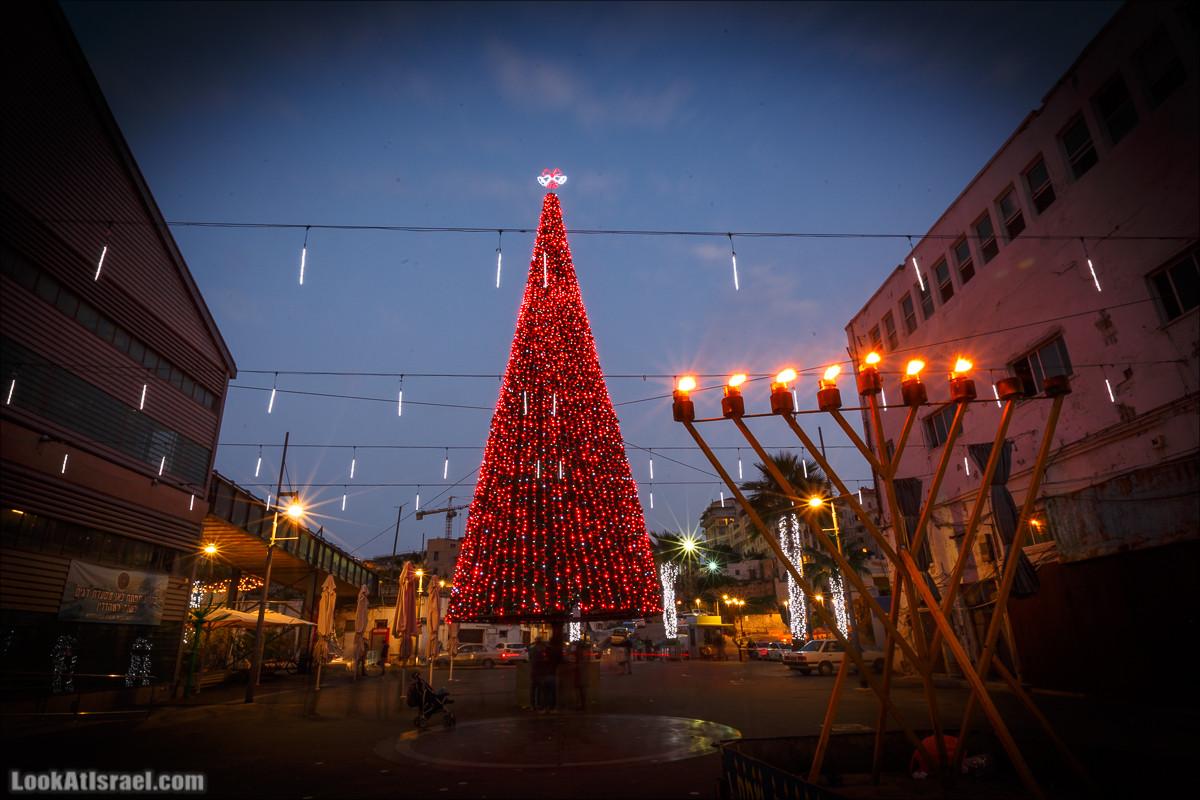 Ханукальный Jingle bells в Яффо