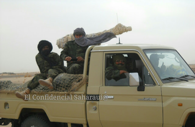 Resultado de imagen de ejercito saharaui ecs