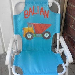 Toddler Beach Chair Personalized Wheelchair Manual Lollipop Kids Review Gift His Very Own With Name