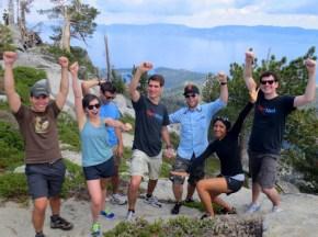 The ElectNext team at Maggie's Peak