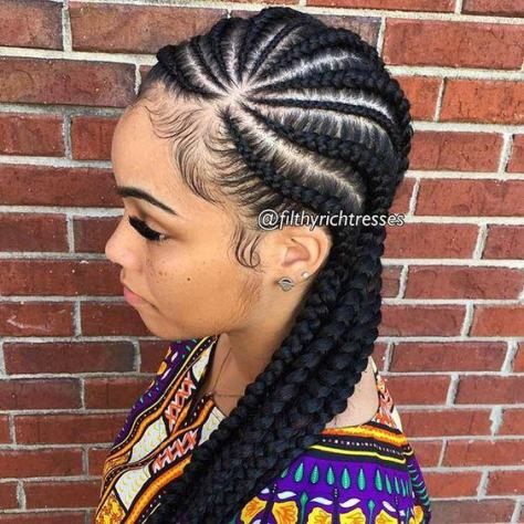 Straight Up Braids Hairstyles 2018 Fashiong4
