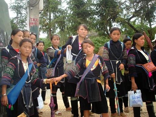 Black Hmong in Sa Pa, Vietnam