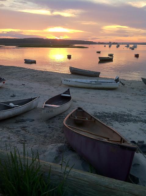 Pine Point Beach | Lobster Traps | Coastal Sunrise - mainetoday