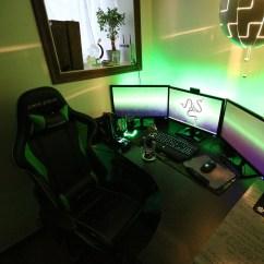 Gaming Chair With Monitors Abbyson Living Razer Insider Forum Inspired Midrange Setup 2015