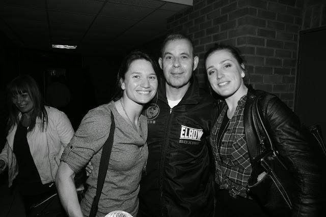 Oshin Derieuw met coach en vriendin Charlotte Deldaele