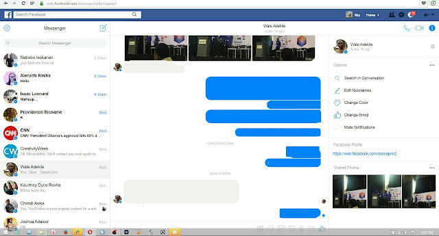 Facebook Changes Web Chat Interface To Messenger UI 31