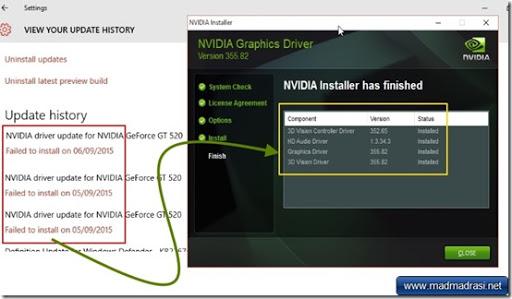 Nvidia driver windows 10 click for details nvidia windows 10 kullan c
